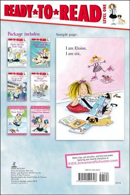 Eloise Ready-to-Read Value Pack 2 By Thompson, Kay (CRT)/ Knight, Hilary (CRT)